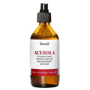 IOSSI Acerola – cytrusowa esencja z kwasami AHA i niacynamidem