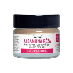 IOSSI Aksamitna róża - krem regenerująco nawilżający MINI