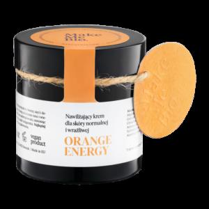 MAKE ME BIO Orange Energy Nawilżający krem do skóry normalnej i wrażliwej