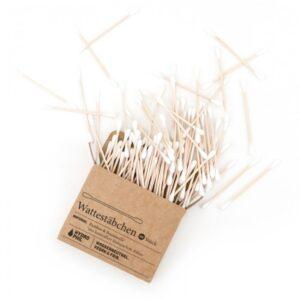 HYDROPHIL Bambusowe patyczki do uszu 100 sztuk
