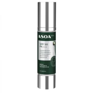 ASOA Krem z filtrem mineralnym SPF 50 PA+++ 50ml